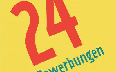 24 Bewerbungen